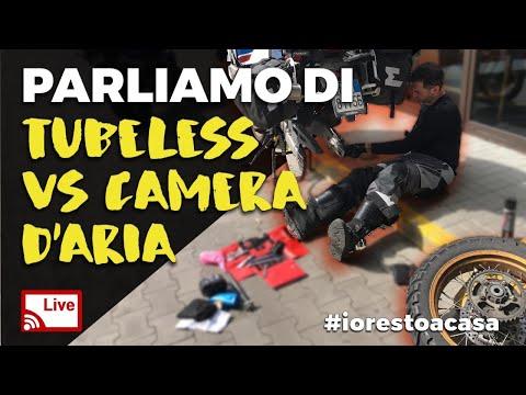 LIVE: Parliamo di tubeless VS camera d'aria - lunedì 30 marzo 2020 #iorestoacasa