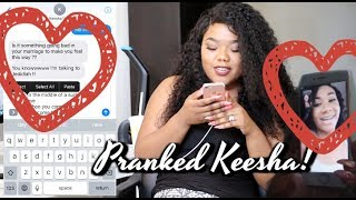 "Prank On Keesha Anderson w/ Aaliyah ""Its Whatever"" Lyrics 