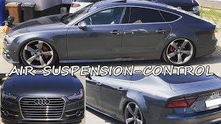 Audi A7 S7 RS7 | Lowering-Module w/APP | Air-Suspension-Control | AK-Racing-47