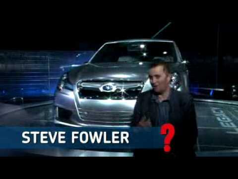 Subaru Legacy Concept at the Detroit Motor Show