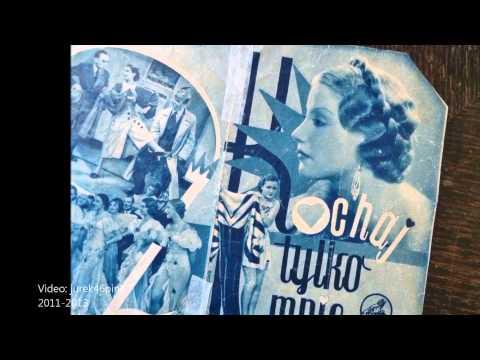 """Lidia Wysocka, 1935: """"Kochaj tylko mnie"""" !"""
