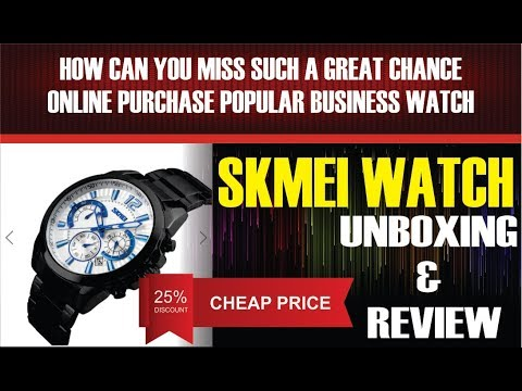 SKMEI Watch Unboxing Review Cheap Price from Banggood