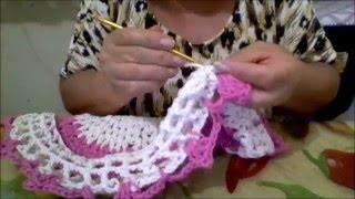 Como Fazer Uma Capa De Crochê Para A Tampa De Vaso Sanitário