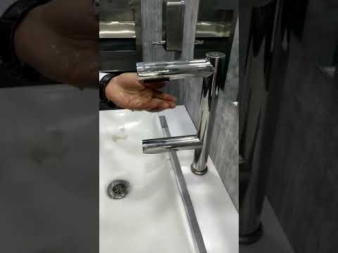 Dolphy 2 in 1 Air Tap Hand Dryer with Automatic Sensor Tap