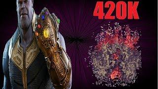 Terraria Super Buffed Infinity Gauntlet Vs Calamity Mod Boss Rush