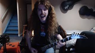"""Jackhammer"" ""ANVIL"" Rhythm Guitar Cover"