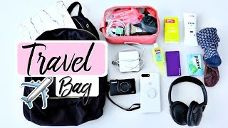 What's In My Carry On | Travel Tips + Essentials!
