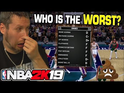 Worst Players of NBA 2K19 - смотреть онлайн на Hah Life