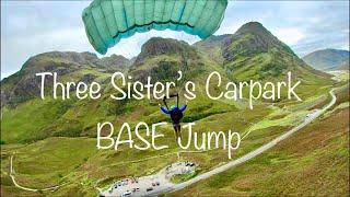 BASE JUMPING // FPV DRONE // GLENCOE // 3 SISTERS