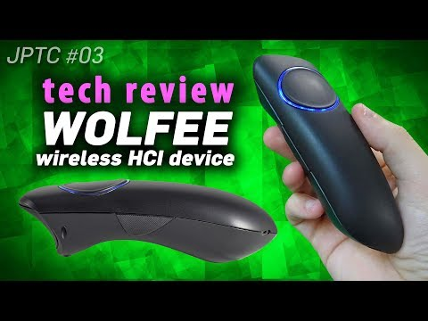 Tech Review: WOLFEE - a brand new hand-held HCI remote