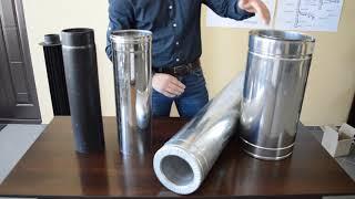 Дымоходные трубы из низколегированной стали