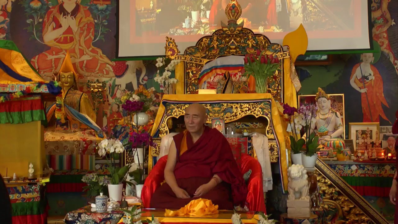 Kunrig Nampar Nangdze - transmission of Mudras with Lama Nyitrul Tulku Rinpoche - part 2
