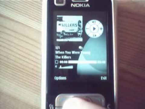 Nokia 6120 classic Video Review / Walkthrough