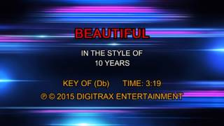 10 Years - Beautiful (Backing Track)