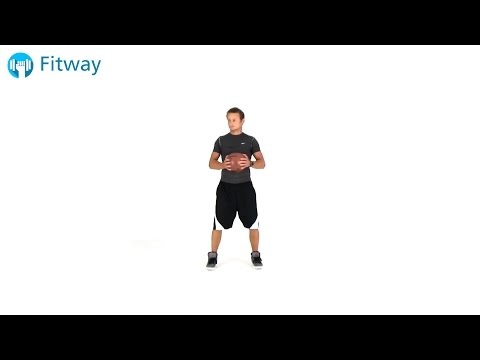 How To Do: Medicine Ball Twist - Russian Standing | Ab Workout Exercise