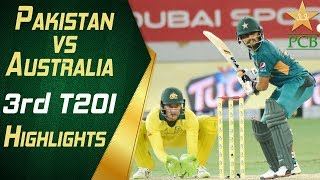 Pakistan Vs Australia 2018 | 3rd T20I | Highlights | PCB