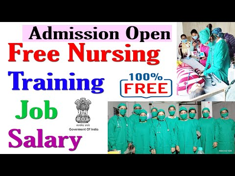 Free Nursing training course by government admission open for all ...