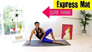 Pilates workout Outer Thigh Workout - BARLATES BODY BLITZ Express Mat Outer Thighs by Linda Wooldridge