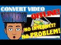 How to Convert WMV Video to MP4 without internet |VLC Media Player
