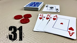 How to Play 31 - Card Games