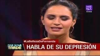 Fernanda Urrejola Contó Que A Los 16 Años Intentó Suicidarse
