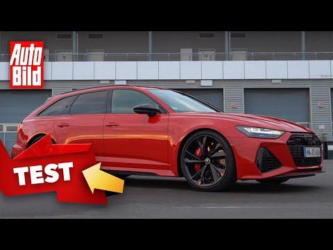 Audi RS 6 Avant (2020) | Der Power-Kombi gibt auf der Rennstrecke alles | Test