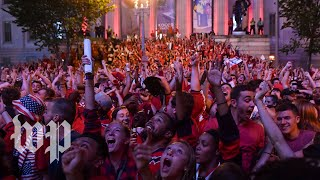 Washington Capitals win the Cup. Here's what D.C. looked like during the final game.