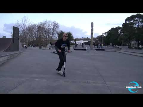 Scooter Tricks - Vic Park Wall (Auckland)