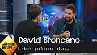 """Pablo Motos, a David Broncano: """"¿Cuánto dinero tienes en el banco?"""" - El Hormiguero 3.0"""