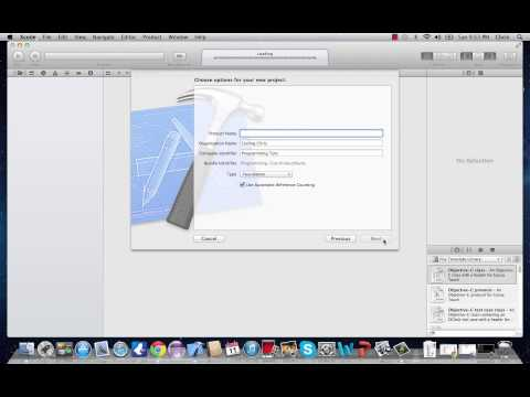 Objective-C Programming Tutorial 1- Running First Program in Xcode