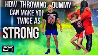 How to work with throwing dummy?  sambo academy