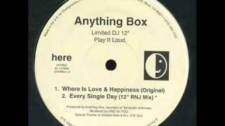 Anything Box - Where Is Love & Happiness (Original)