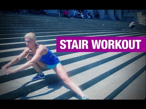 BUTT and THIGH Workout for Women (Just Need Stairs!)