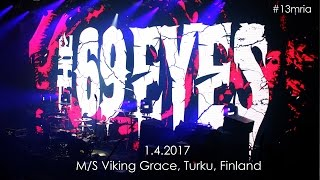 #13mria: The 69 Eyes - Still Waters Run Deep (M/S Viking Grace 1.4.2017)