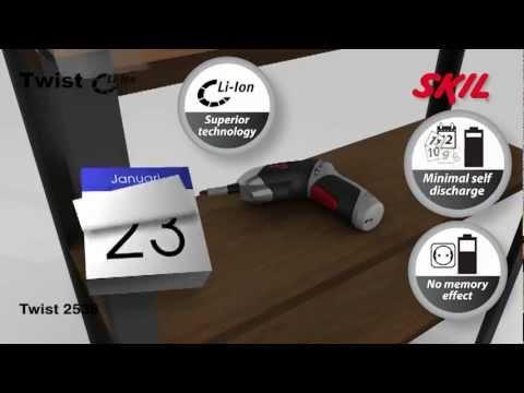 Cacciavite a batteria 2536 Cacciavite a batteria Utensili SKIL per professionisti