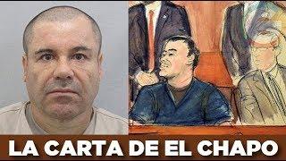 El Chapo: No voy a cooperar con el gobierno de EU, quiero irme a juicio
