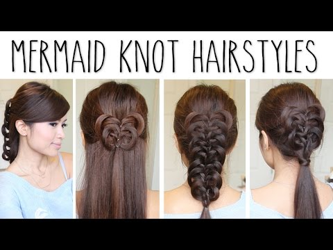 Easy Knotted Braid Hairstyles | Hair Tutorial
