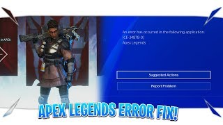 how to fix error code ce-34878-0 apex legends - Kênh video giải trí