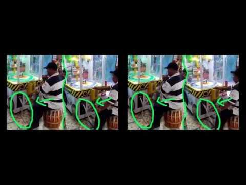 Video Keren ! Pria Bertopi Ini Tahu Kelemahan Mesin Game, Lihat Caranya Mengeluarkan Ribuan Tiket..