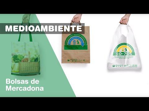 Mercadona quita las bolsas de plástico de un solo uso