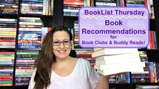 Adult Book Recommendations: Book Clubs & Buddy Reads!