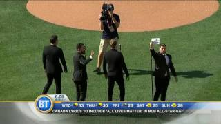 Video: Canadian Tenors say singer acted as 'lone wolf' by changing national anthem lyric