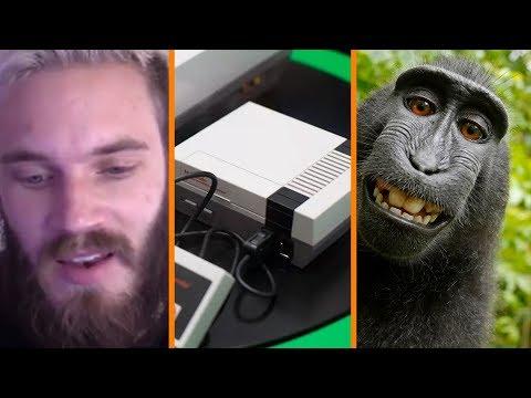 Pewdiepie Apologizes + NES Classic RETURNS + PETA vs Monkey Selfie - The Know