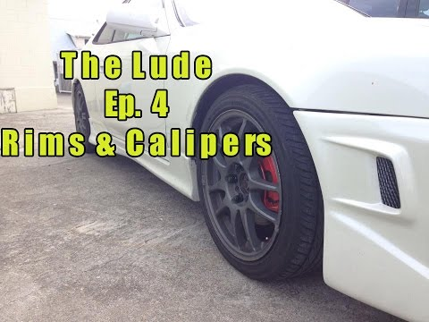 "Honda Prelude ""The Lude"" Build Ep. 4 - Rims and Calipers"