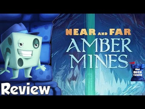 Near and Far: Amber Mines Review - with Tom Vasel