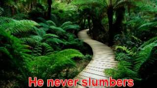 Don Moen's - He Never Sleeps He Never Slumbers ,sung by Anugraha Paul -  with lyrics