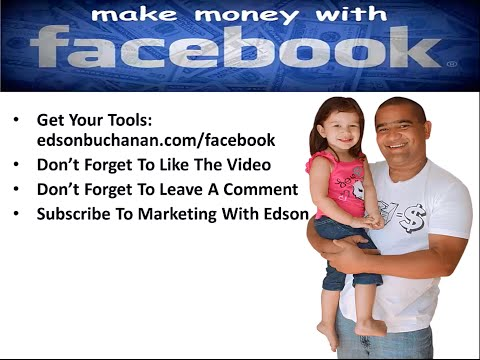 How To Make Money on FaceBook 24/7 on Auto-Pilot With Affiliate Marketing