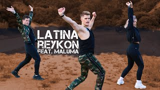 Latina - Reykon feat. Maluma | Caleb Marshall | Dance Workout