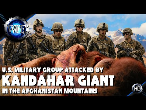 15 FOOT GIANT KILLED IN A KANDAHAR CAVE BY U.S. MILITARY! ~ WHAT THEY DONT WANT YOU TO KNOW!