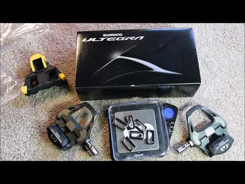 Shimano Ultegra PD-R8000 pedals, specs, weight and measurements